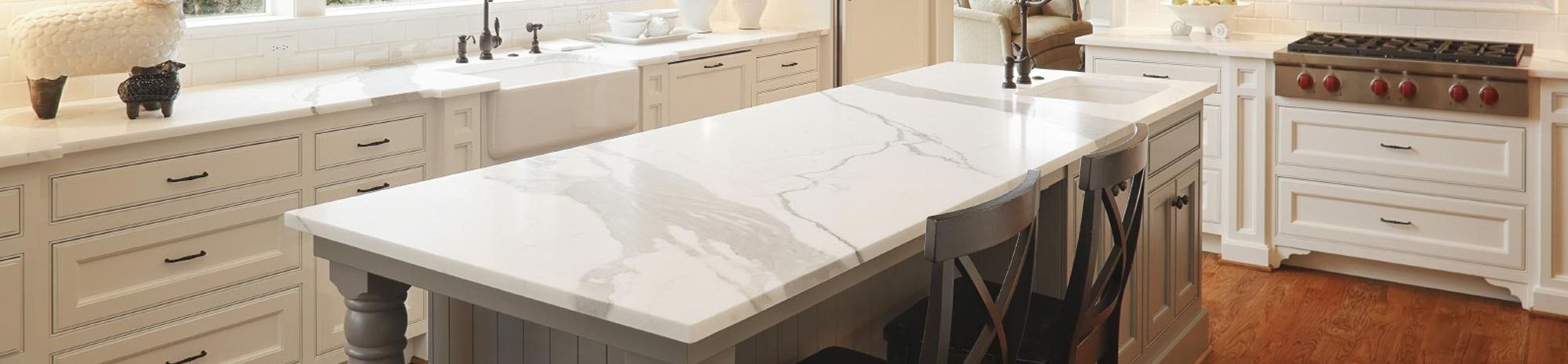 Chicago US White Marble Countertops : Licensed, Bonded and Insured